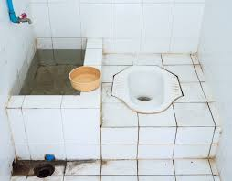 Asian squat toilets pictures