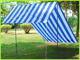 blue portable sun shade shelter cabana beach tent outdoor view larger