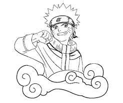 Small Picture Download Uzumaki Naruto Coloring Pages Or Print Uzumaki Naruto