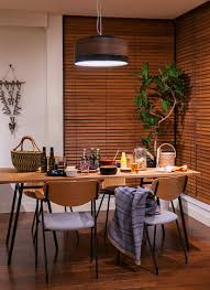 ... Add natural elements to give Japanese style dining room a more organic  appeal [From:
