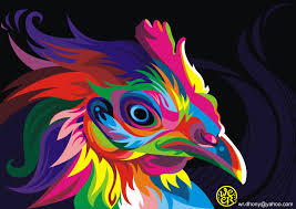 Colorful Vector Animals By Wahyu Romdhoni Art Spire