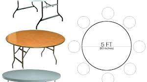 round table 60 inches impressive 5 foot round table on 6 is how many inches designs