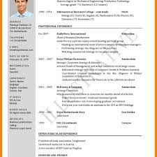 Standard Format Resume 24 Standard Cv Format Free Download Janitor Resume With Resume 20