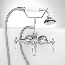 Signature Hardware Woodrow Tub Wall Mount Tub Faucet And