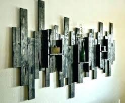 diy wood wall decor designs reclaimed