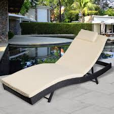 patio chaise lounge chairs cheap. outdoor rattan chaise lounge chair - sunloungers seating furniture patio chairs cheap
