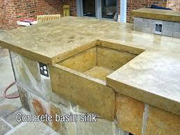concrete sinks diy