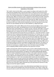 an     a graded     essay example       document in gcse english literaturepreview of an     a graded     essay example