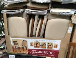 wood folding chairs costco. Simple Chairs Costco 899431  Stakmore Wood Folding Chair With Upholstered Seat Classic  And Not Cheap Looking To Chairs E