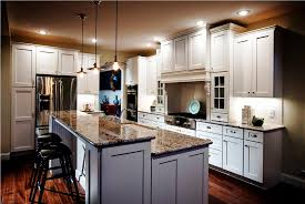 Awesome Two Island Open Kitchen Layouts Images