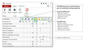 Synkronizer Excel Compare: Compare, update and merge Excel files ...