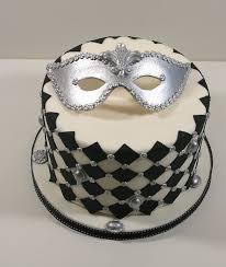 Mask Cake Decoration cake decor mardi gras mask masquerade new orleans reception 2