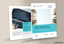Business Proposal Layout Buy This Stock Template And