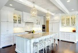 Large Crisp White Kitchen With Faux Bamboo Counter Stools From Designs  Ballard Design Black Bar . Designs Contemporary Bar Stools Ballard .