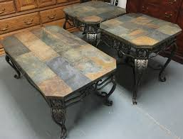 photo of slate top coffee table with coffee table cool of stone top coffee table stone top coffee