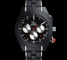 dior men s wristwatches 6k dior black watch a05 automatic chrono chiffre rouge time hedi slimane