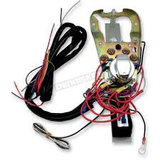pro one dash base wire harness kit 400909 harley davidson pro one dash base wire harness kit 400909