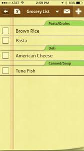grocery checklist 11 time saving grocery list apps for the iphone
