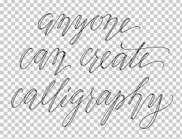 Calligraphy Cursive Font Handwriting Tutorial Png Clipart