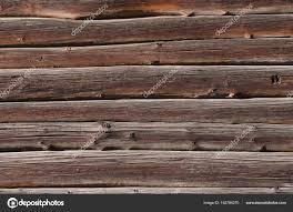 Dunne Donkere Houten Planken Met Lichte Vlekken Horizontaal Zijn