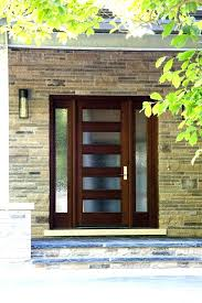 contemporary entry doors with glass front wood door modern porch and in designs 15