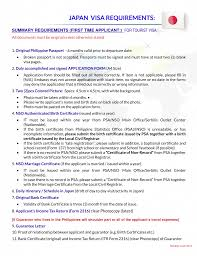 Japan Visa Employment Certificate Sample For Japan Visa Application