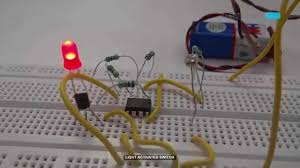 Automatic Light Operated Switch Using Ldr And Ic 741 Light Activated Switch Using Ldr