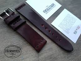 horween shell cordovan leather strap 15 img 9995
