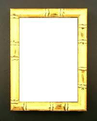 gold matted frames gold bamboo frame bed vintage custom with mat wall frames gold baroque frame
