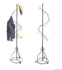 Wrought Iron Standing Coat Rack Standing Coat Rack Ikea Wardrobe Racks Astounding Standing Clothes 93