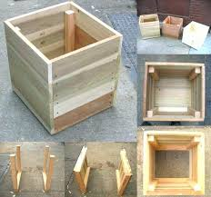 wooden planter box diy interesting wooden planter box photo 6 of 8 easiest planters attractive wood wooden planter box