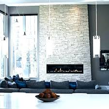 gray stone fireplace grey contemporary living room in tones dark tiles stone fireplace