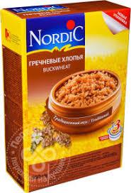 Купить <b>Хлопья Nordic</b> Гречневые 550г с доставкой на дом по ...