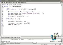 This java program asks the user to provide a string input and checks it for the palindrome string. 12 How To Check Number Is Palindrome Number Or Not In Java Youtube