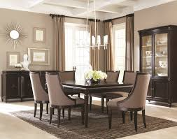 modern dining room tables. dining room furniture : modern formal expansive brick wall decor table lamps gray tables