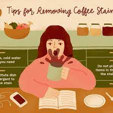 Good housekeeping lists a very simple method to treat old or dried coffee stains on carpets. How To Remove Coffee Stains From Clothing