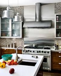 Kitchen Stainless Steel Backsplash Stainless Steel Backsplash Advantages Tips And Ideas