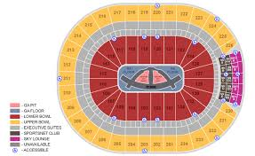 45 Disclosed Philips Arena Seating Chart Carrie Underwood
