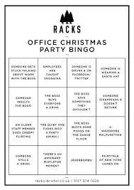 Office Bingo Office Christmas Party Bingo Racks