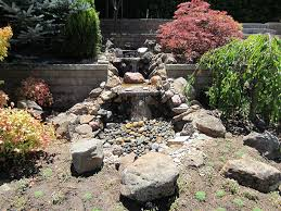 los altos pondless waterfall with large