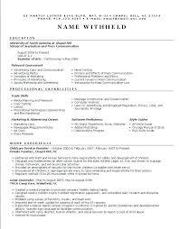 Resume symbols word