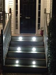 stair lighting. diy stair lighting decks electrical stairs deck kit a