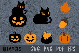 With halloween just around the corner, we'd like you to get creative with some spooky svg. Fall Svg Halloween Pumpkin Svg Black Cat Svg Acorn Svg Files 934323 Cut Files Design Bundles