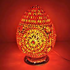 Arabische Tafellampen Met Turkish Glas Mozaiek In Uniek Design