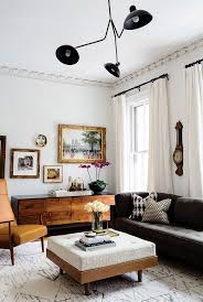 Living Room Ottomans Living Small To The Max Wooden Sideboards Living Room White
