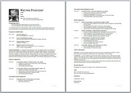how do i make a cv tk category curriculum vitae