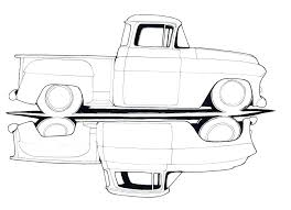 old chevy truck coloring pages old truck coloring pages drawings sketch page printable c chevy silverado