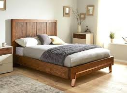 dark wood double bed frame large size of bedroom white wooden double bed small double bed
