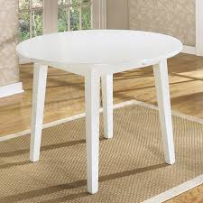 37 diameter round drop leaf dining table polished veneer throughout with regard to white drop leaf