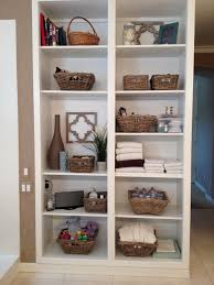 Bathroom Shelf Domestic Ceo 10 Tips For Organizing Open Bathroom Shelves